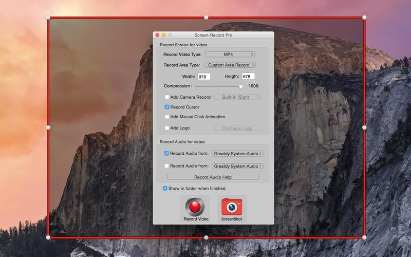 Screen-Record Pro – 屏幕录像软件[OS X]丨反斗限免