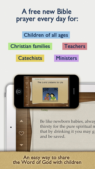 Children's Bible Daily Prayers with Devotions for your Kids Christian Families Catechism Sunday Scho