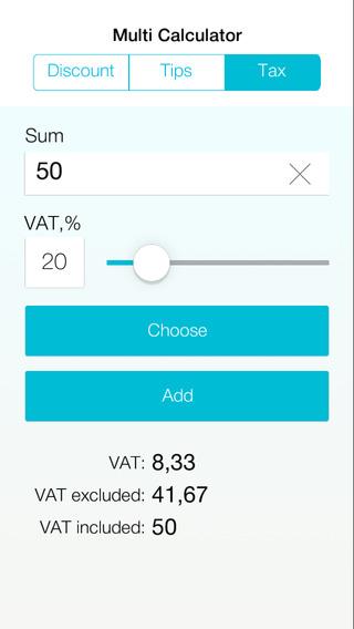 Multi Calculator: Tax Discount Tips