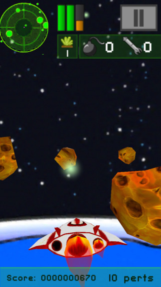 Rockin'Space - Fight in space to destroy the asteroids that threaten life on Earth.