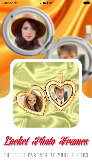 Locket Photo Locket Frames HD
