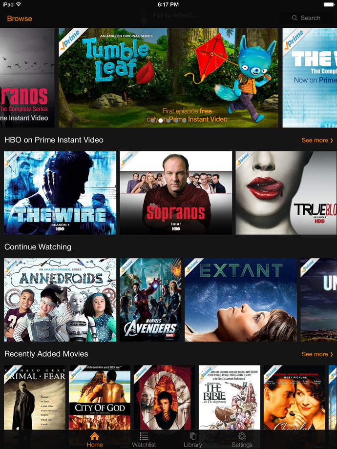 Amazon Instant Video - iPhone Mobile Analytics and App Store Data