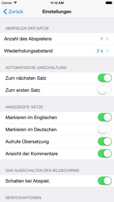 Alltägliches Englisch iPhone Screenshot 5