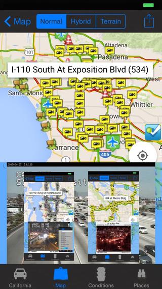 【免費旅遊App】I-5 RoadCam and Road Conditions - Travel & Transit & NOAA Free-APP點子