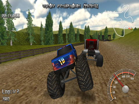 Monster Truck Lite iPad Screenshot 1