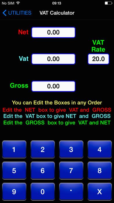 BuildersCalcsPro iPhone Screenshot 5