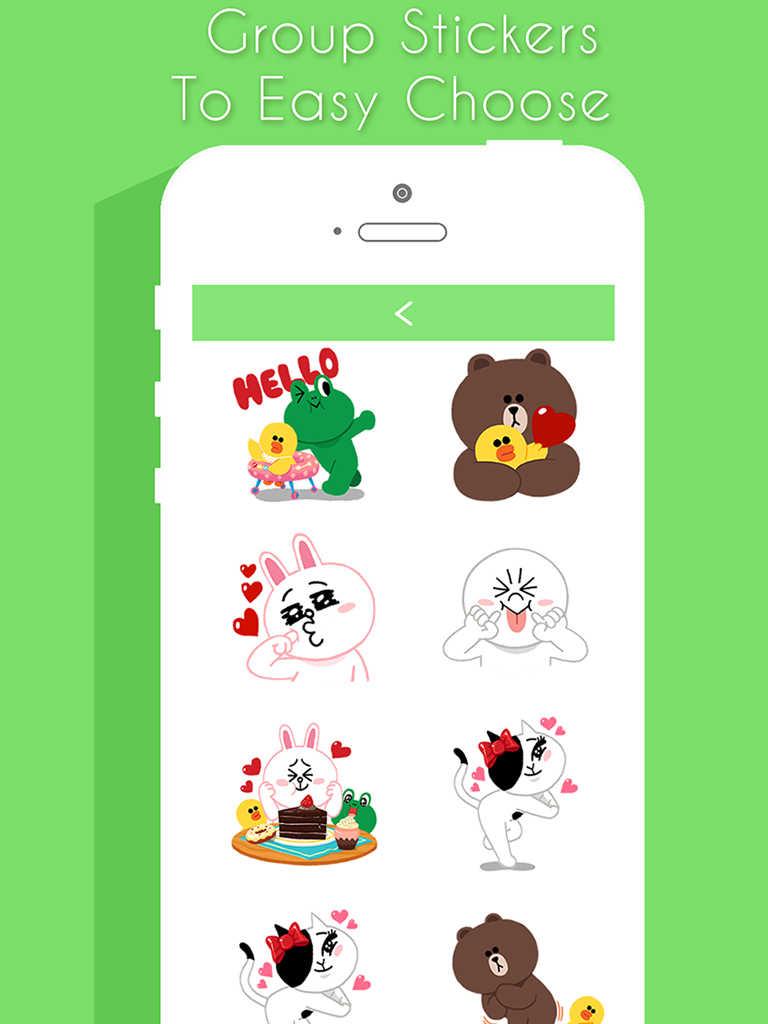 app shopper sticker free for chatting message email. Black Bedroom Furniture Sets. Home Design Ideas