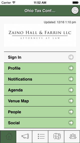 Ohio Tax Conference 2015 powered by Zaino Hall Farrin