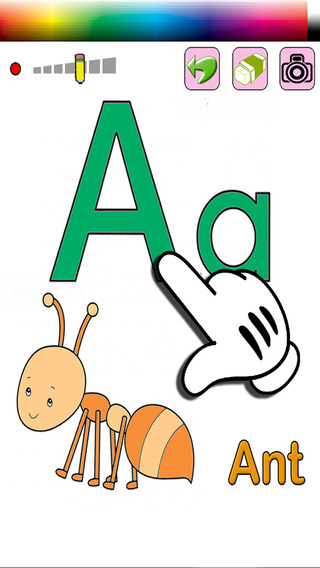 Free Kids Coloring for ABCs