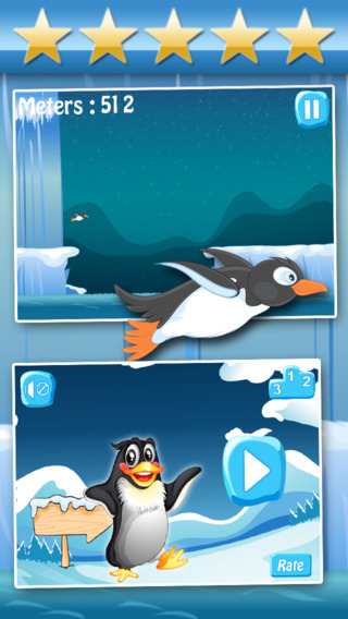 Arctic Penguin Racing : Super-Sonic Ice Voyage Pro