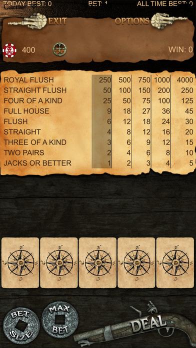 Screenshot 2 Рука мертвеца пиратский покер — Почувствуйте Супер Джекпот партию и выиграть по-крупному призы