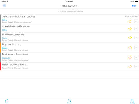 IQTELL Email Productivity App for To-Do Lists & Getting Things Done (GTD®) screenshot