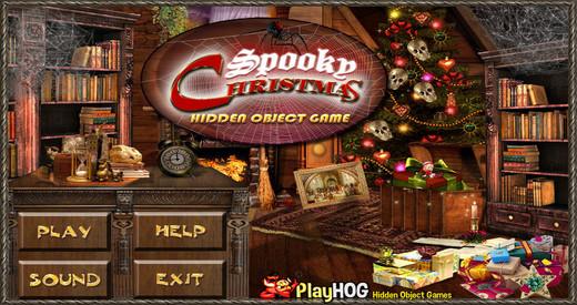 Spooky Christmas - Free Hidden Object Games