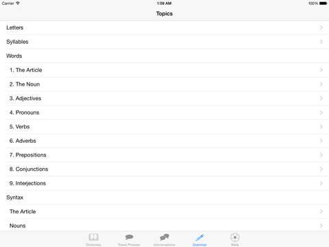 Samoa Language iPad Screenshot 5