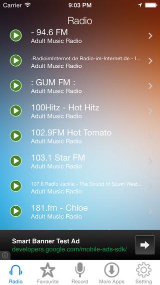 Adult Music Radio Recorder