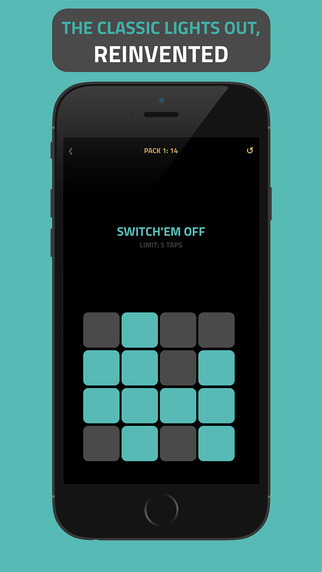 Lights Tap - most challenging lights off logic puzzle reinvented for Watch