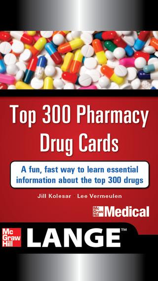 Lange Top 300 Pharmacy Drug Cards 2014-2015