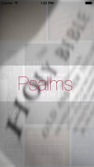 Psalms Words of wisdom and inspiration