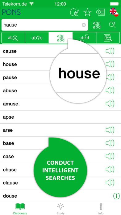 PONS Compact English <-> Polish Dictionary iPhone Screenshot 4