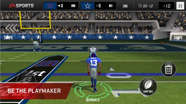 MADDEN NFL Mobile Screenshots