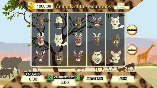 Animals Of The Mountais Slots - FREE Gambling World Series Tournament