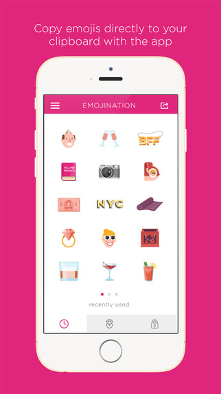 Candace Bushnell's Emojination Keyboard