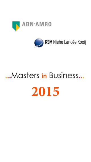 Masters in Business 2015