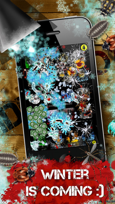 iDestroy Lite - shoot bugs with laser, grenade and guns iPhone Screenshot 5