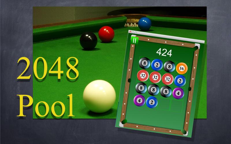 台球2048 - 球杆球粉碎另一场比赛谜题 for Mac