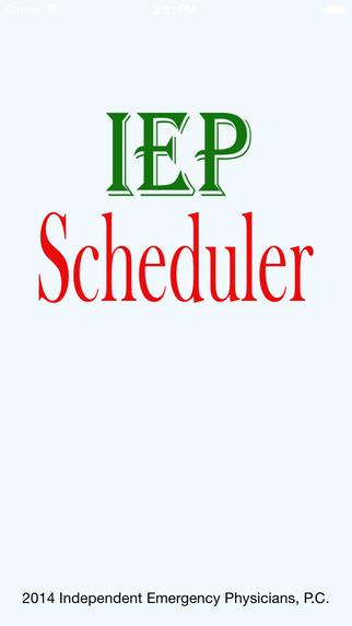 IEP Scheduler