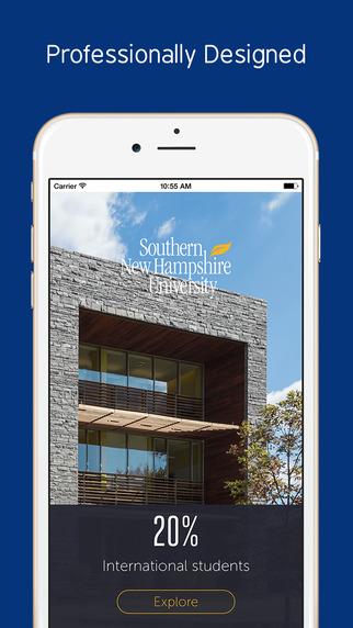 Southern New Hampshire University - Prospective International Students App