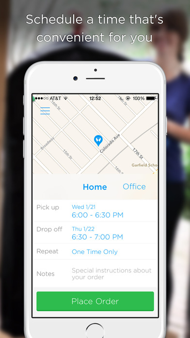 Washio - On demand dry cleaning and laundry delivered on the App Store