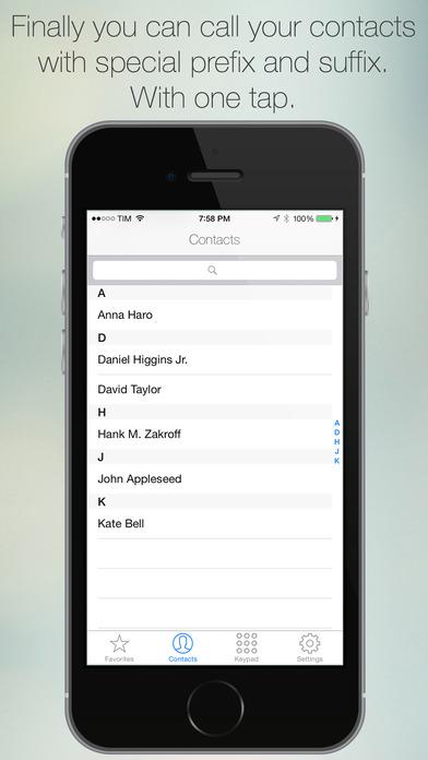 BusinessCalls iPhone Screenshot 1