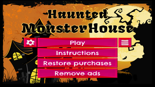 Haunted MonsterHouse - FREE - Slide Rows And Match Haunted House Ghouls Puzzle Game