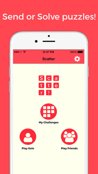 Scatter - puzzle your friends