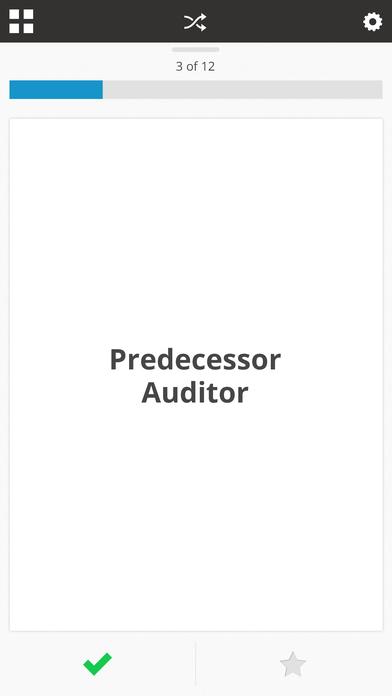 CPA Exam Flashcards app image