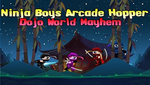 Ninja Boys Arcade Hopper: Dojo World Mayhem