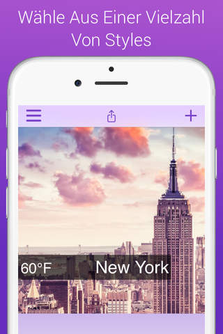Weathergram - Weather And Temperature For Instagram screenshot 2