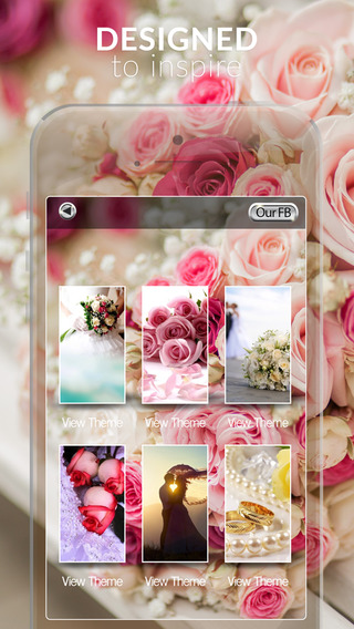 Wedding Gallery HD - Retina Wallpapers Just Married Themes and Backgrounds