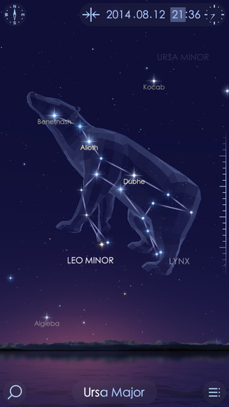 Star Walk™ 2 - Guide to the Night Sky to Watch Stars Planets Meteor Showers Constellations