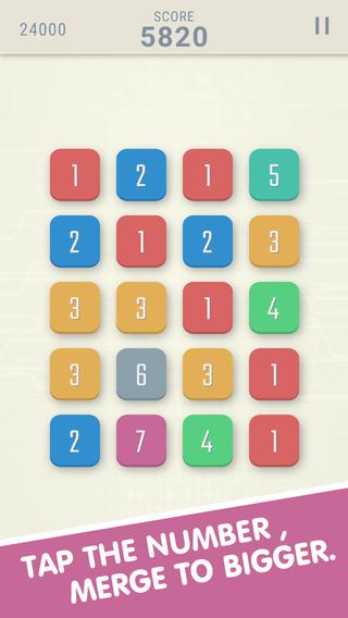Numbers - Merge
