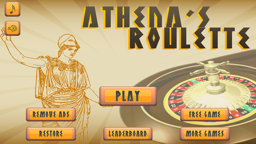 Athena's Roulette - Free Casino Dice Game