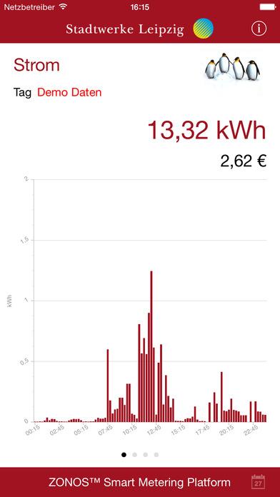 Strom21.smart iPhone Screenshot 1