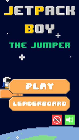 Jetpack Boy : The Jumper