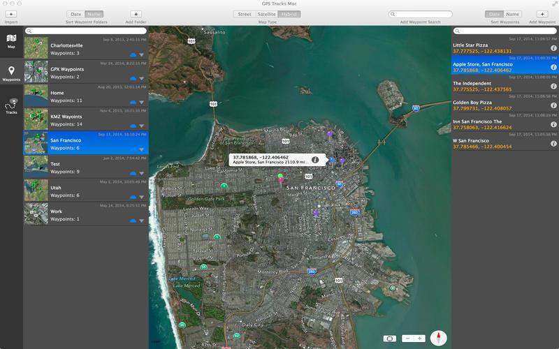 GPS Tracks Screenshot - 5