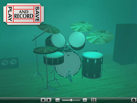 3D Drum Kit iPad Screenshot 5