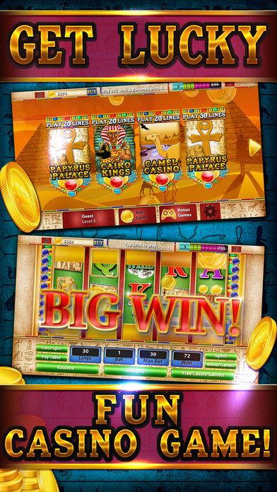 Screenshot 5 Слоты — Сфинкс Путь: Кузня Египет экспедиции казино Славы