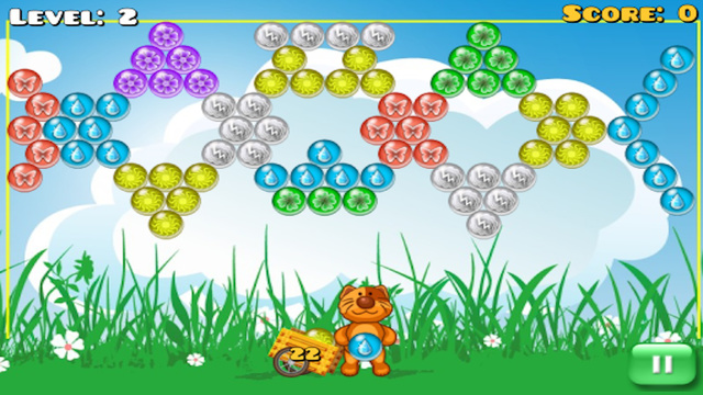 Bubble Meadow Fun Game