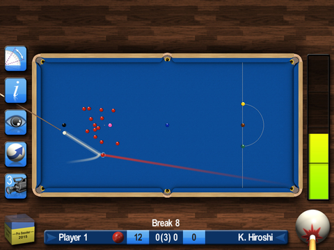Pro Snooker 2012 screenshot 8