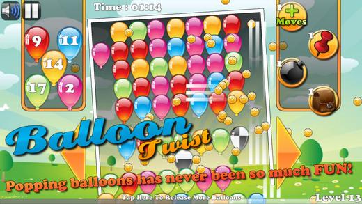 Balloon Twist - Collapse Match-3 Blast